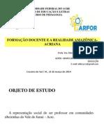 Apresentação Encerramento Do PARFOR MARÇO de 2014