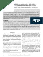 Alterações Químicas e Nutricionais Do Grão-De-bico