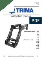 Trima + Manual