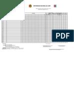 Modelo de Registro y Actas _2014 - i