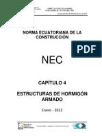 Nec Cap4 Estructuras Hormigon Armado