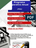 Presentación Programa Operativo Anual