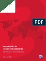 radio regulation Rr2012 Vol III Sa5