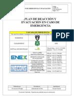 Plan Emergencia y Evacuación INECONS LTDA - EnEX S.a.