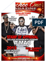 GeeChee One Magazine featuring T-Mac
