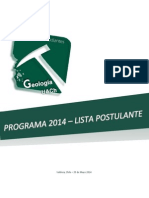 Programa Final Lista 2014 CEEGEOL UACh