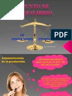 Punto de Equilibrio(Nancy Rios)