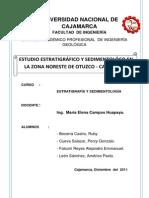 Trabajo de Investigacion Otuzco - Estratigrafia