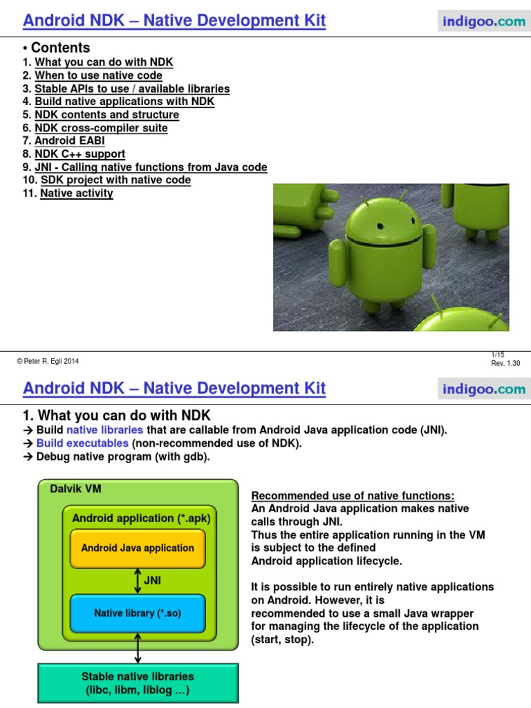 Android NDK 1   C++   Library (Computing)