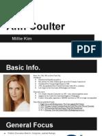 ann coulter presentation