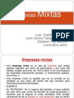 Finanzas Publicas Empresa Mixtas}[1]