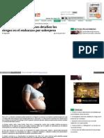 embarazo sobrepeso