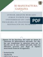 Proceso Manufactura Gasolina