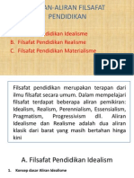 ALIRAN-ALIRAN FILSAFAT PENDIDIKAN.pptx