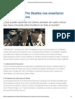 __ Lecciones que The Beatles nos enseñaron sobre los negocios __