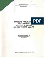 R-020 Manual Ambiental Para Diseno y Construccion de Proyectos Viales