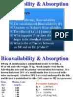 10bioavailability Absorption
