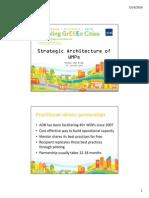 Strategic Architecture of UMPs