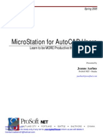 MicroStation for AutoCAD Users