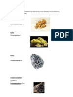 Minerales Nativos