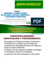 A 013 Tarjeteo y Candadeo
