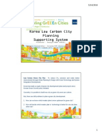 Korea Low Carbon City Planning Supporting System