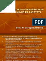 Identificarea Ierarhizarea II