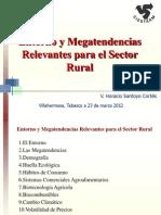 Mega Tendencias y Politicas Publicas Para El Sector Rural