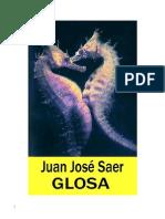 Saer, Juan Jose - Glosa