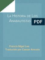 La Historia de Los Anabautistas (2)