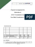 AGP MS 101 Relocation of Transmission Line Rev B