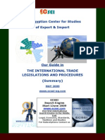 Guide in THE INTERNATIONAL TRADE