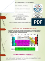 Estructura de Los Materiales Puros
