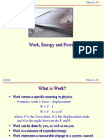Work-Power-Energy Phcvbbbbysics 12 Lecture
