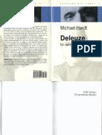 Hardt, Michael - Deleuze. Un Aprendizaje Filosófico