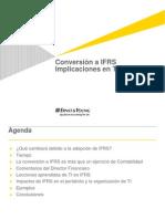 IFRS Implicaciones en TI