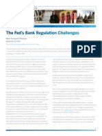 The Feds Bank Regulation Challenges
