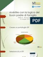 Mazziero ITF2014 - Investire Con La Logica Del Buon Padre Di Famiglia ANNO II