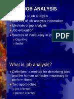 Presentation on Job Analysis