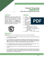 000 - Tie Coat - Arabian Vermiculite - FIREBOND - Data Sheet
