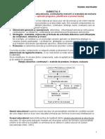 Relatia Dintre Obiectivele Educationale, Continuturile Instruirii Si Metodele de Instruire