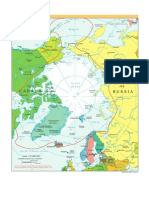 CIA - World Factbook - Reference Map - Arctic