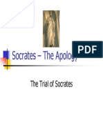 Socrates in Apology
