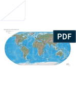 CIA - World Factbook - Reference Map - Physical World - Sept 2007