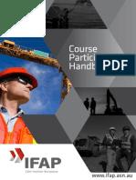 IFAP - Course Participants Handbook