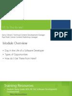 MVA Software Development Fundamentals Mod7