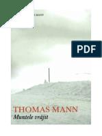Thomas Mann - Muntele Vrajit (2.0)