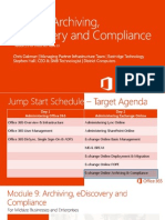 09 O365 SMB JS V2 Archiving EDiscovery and Compliance