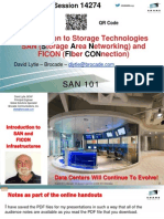 01 - Session 14274 - SAN 101 - An Overview of Storage Area Networking - Presentation