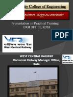 Railway Summer Training PPT